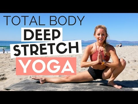 20 Min Total Body Deep Stretch Yoga Routine for Runners and Athletes