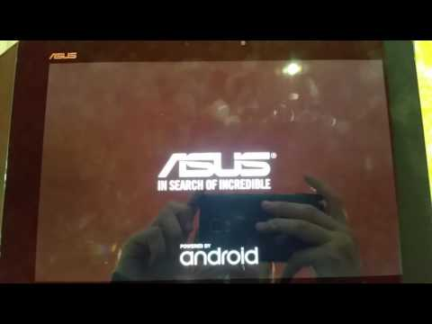 Virus recovery android on Asus Transformer