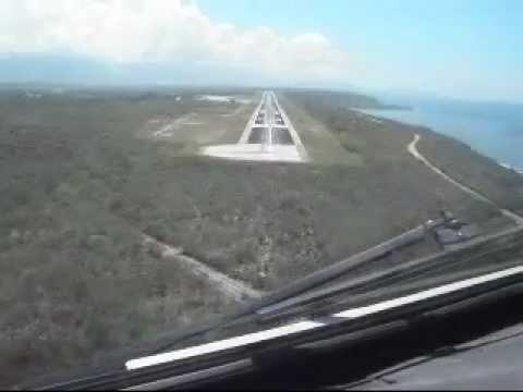 Saab 340A Landing at Santiago de Cuba