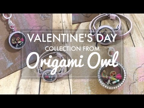 Valentine's Day Looks from Origami Owl // Create a Living Locket with Charms from Origami Owl