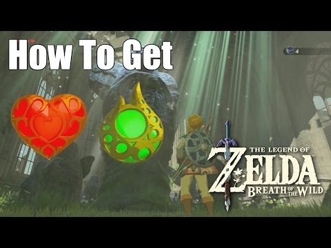 How to get Heart Containers and Stamina - Legend of Zelda: Breath of the Wild