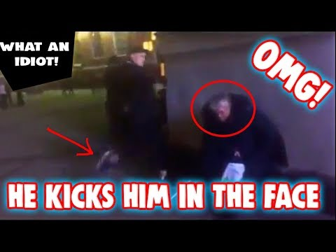 16 Year Old Teenager Kicks Elderly Homeless Man In The Face Then Post It On Facebook (My Thoughts)