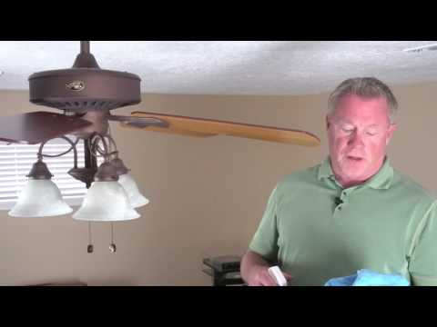 How to clean your Ceiling Fan using SurfaceProPlus