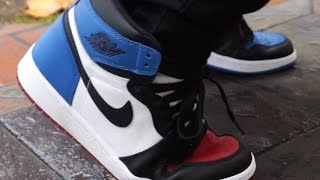 finest selection cbf45 134f4 Jordan 1 Top 3 with on Foot review!!   Daikhlo