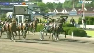 Elitloppet Final 2009 TORVALD PALEMA Åke Svanstedt @ Solvalla Sweden 31maj09 (extended HQ version)