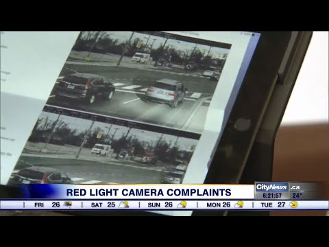 Drivers claim red light camera is ticketing incorrectly
