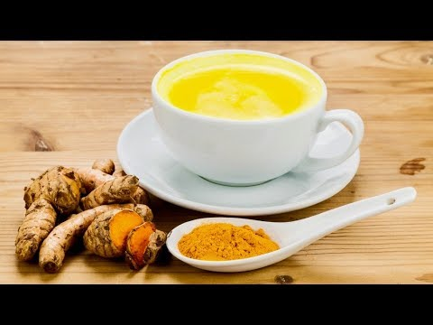 Drink Turmeric Mixed With Milk For 7 Days, This Will Happen to Your Body!