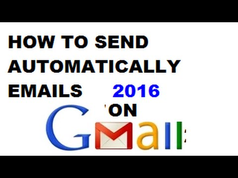 How To Send Email Automatically In Hindi/urdu