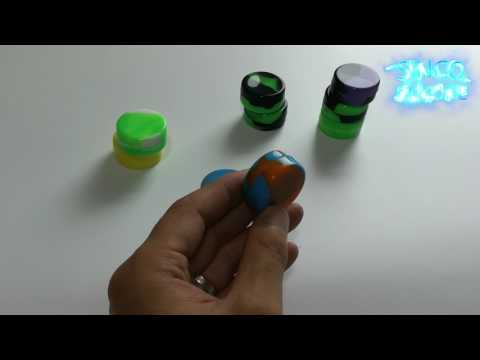 concentrate wax containers / jar with silicone lid - silicone product exporter