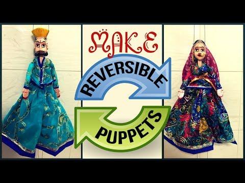 How to make a Puppet   Handmade Wooden Puppets   Puppet Making