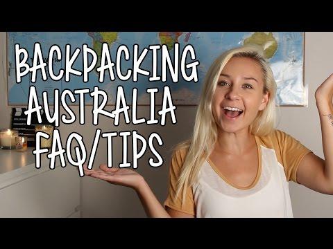 Backpacking Australia TIPS/FAQ