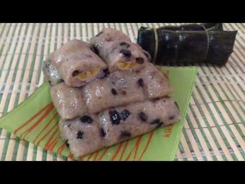 Tฺhai Style Banana With Coconut Sticky Rice Recipes. ข้าวต้มมัด