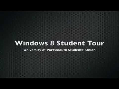 Windows 8 Student Tour @ Portsmouth Students' Union
