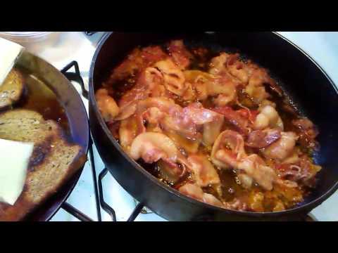 Nigerian food - Bacon, Cheese, Wara