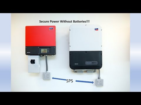 Secure Power without Batteries