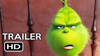 The Grinch Official Trailer #1 (2018) Benedict Cumberbatch Animated Movie HD