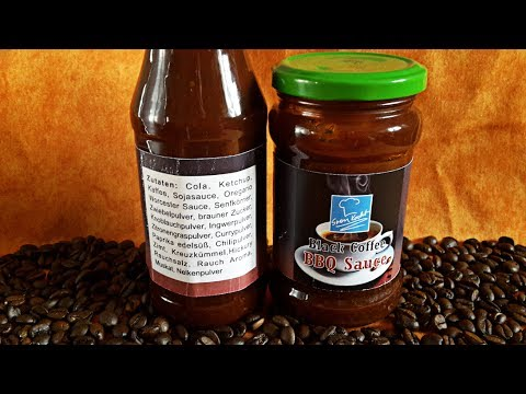 BLACK COFFEE BBQ SAUCE | Rezept