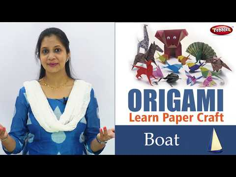 How to make Origami Paper Boat in English | Origami Craft for Kids | Easy Paper Craft | DIY Craft