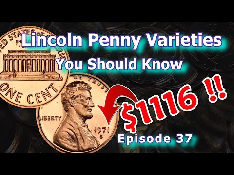 Lincoln Penny Varieties You Should Know Ep.37 - 1953, 1960, 1971