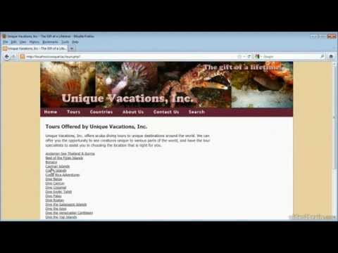 Dreamweaver-(Creating a data-driven website) tutorial-full