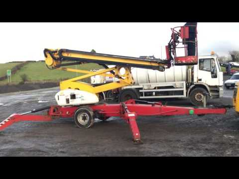 NIFTY LIFT N210 75Ft DIESEL SELF DRIVE CHERRY PICKER