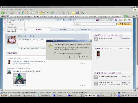 How to change your yahoo mail password