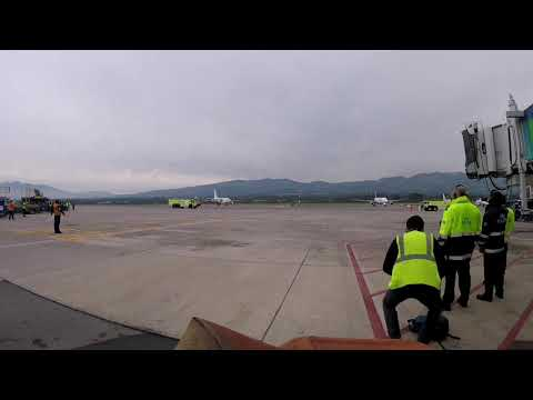 Llegada de Air Europa a Quito Airbus A330 GoPro Hero Session 5 - HD