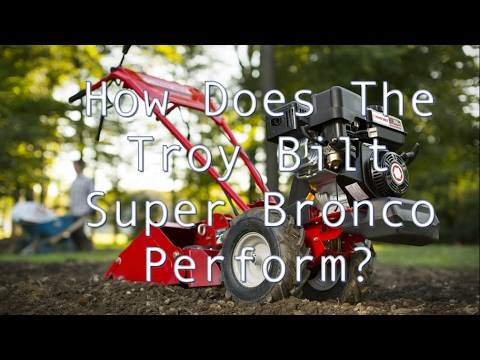 Troy Bilt Super Bronco 16