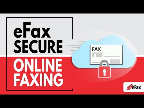 Secure Online Faxing with eFax