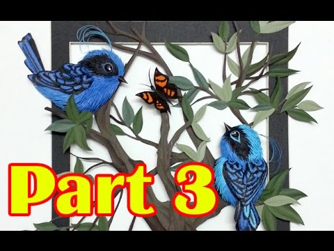How to Make a Paper Sculpture Part 13 of 3