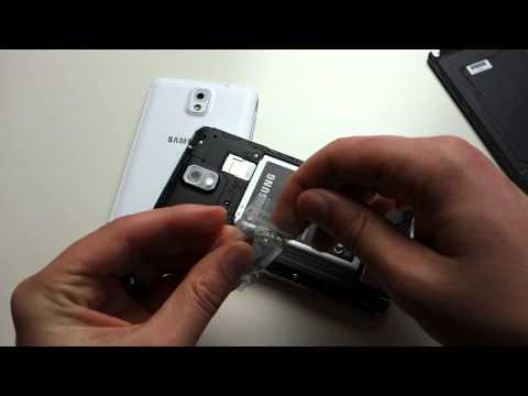 How to: Remove Galaxy Note 3 SIM Card