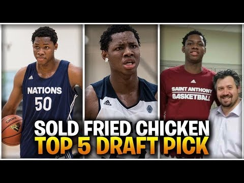 From SELLING FRIED CHICKEN To NIGERIAN Basketball Phenom! | Meet 2019 Draft Prospect CHARLES BASSEY!
