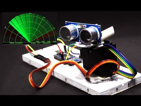 Arduino Radar _You will find the subject in the darkness ); #