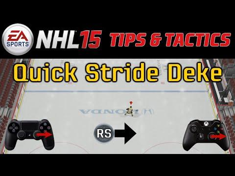 NHL 15: Tips & Tactics - Quick Stride Dekes
