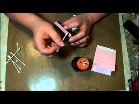 DIY Scratch Paper Pads from old Scrapbook Paper