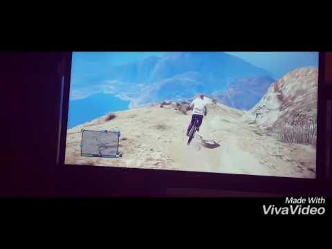 GTA 5 online big mountain downhill