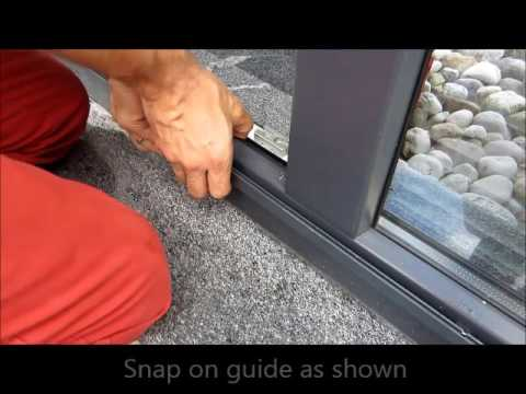 Vilanova SLIDE Screen Door Install Steps