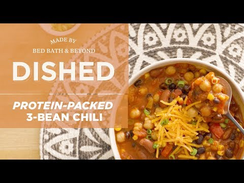 Dished: Protein-Packed 3-Bean Chili