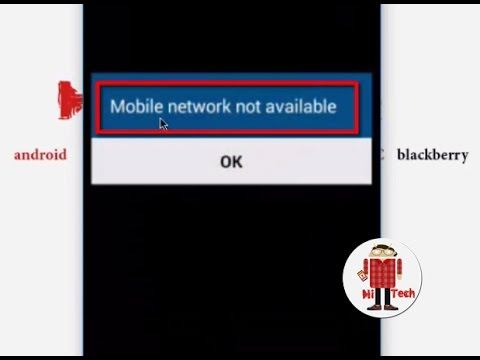 How to Fix All Samsung  Mobile Network Not Available Error