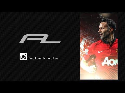 Speed Art - Ryan Giggs - Instagram football edits