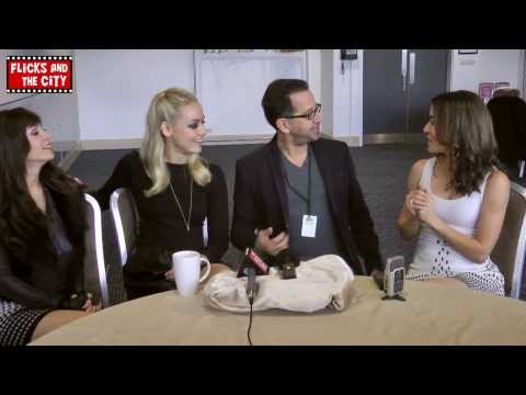 Lost Girl Season 4 & 3 Interview - Ksenia Solo, Rachel Skarsten, Emmanuelle Vaugier & Jay Firestone