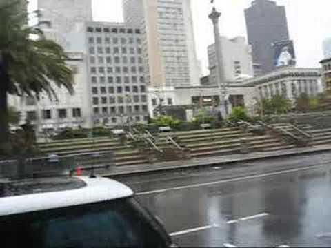 San Francisco - Union Square in the rain