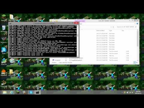 How to make a Tekkit Server for Windows 7 and 8