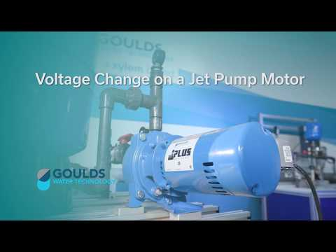 How to Change Voltage on a Jet Pump Motor