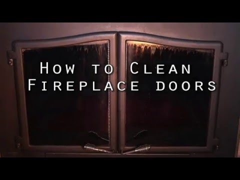 How to Clean Soot Off Fireplace Glass