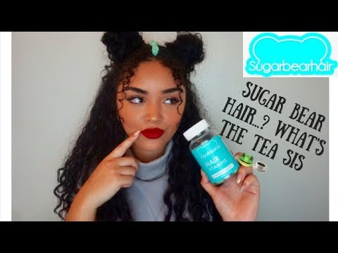 I tried Sugar Bear Hair Vitamins for 3 months...worth it? (before & after) | SugarBearHair review