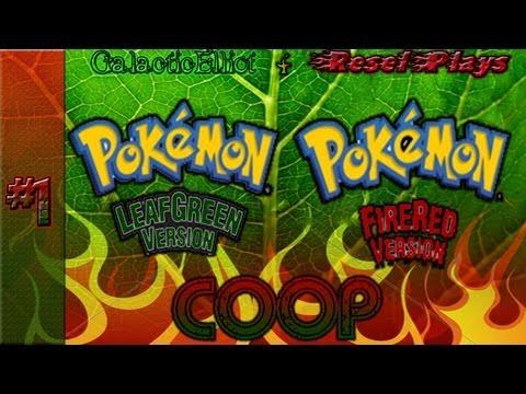 Pokemon FireRed & LeafGreen Nuzlocke Random Encounter Co-Op Part 1 ~ Ditto