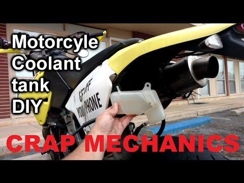 Crap Mechanics: DRZ 400 Coolant Overflow Reservoir DIY