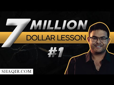 My 7 Million Dollar Lessons • Lesson 1: Developing A Money Alchemy Mindset • Wealth Academy