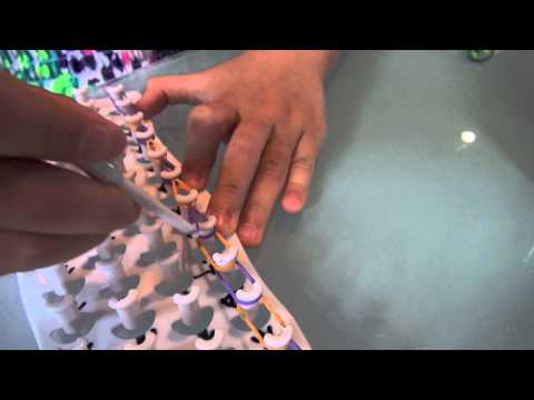 Carrigan FunLoom - How To Create Single Bracelet